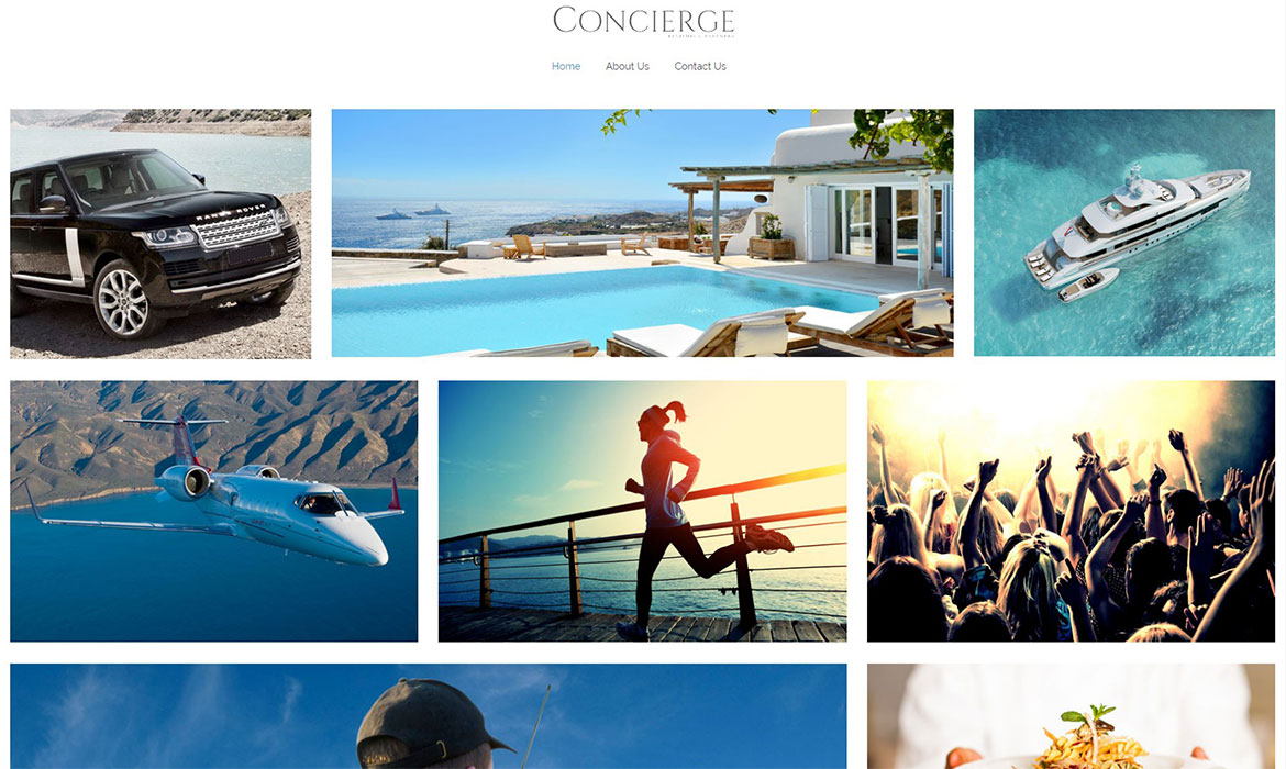 Revithis-Concierge Home page