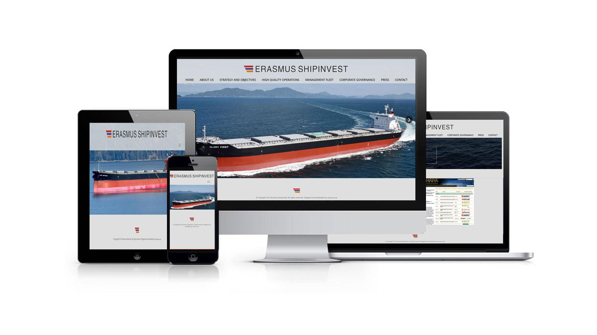 Erasmus Shipinvest Responsive