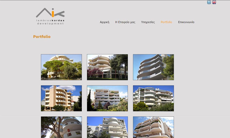 Lampros Kordas Development portfolio