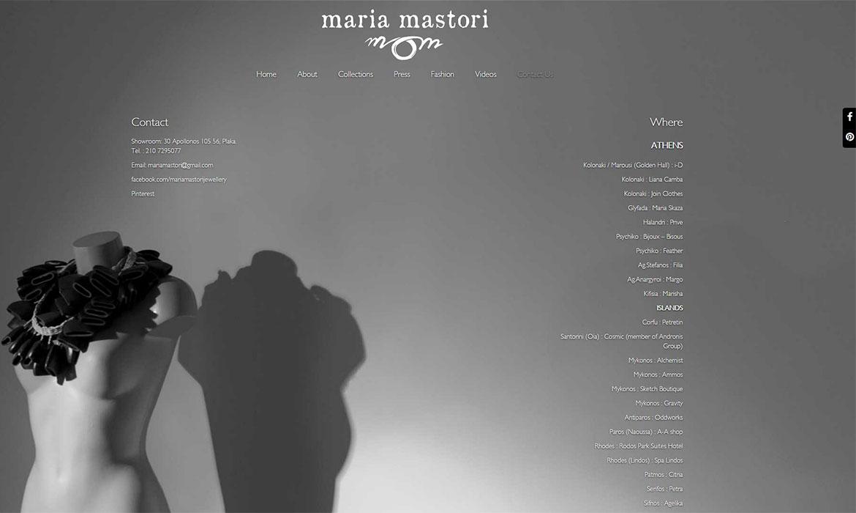 Maria Mastori About