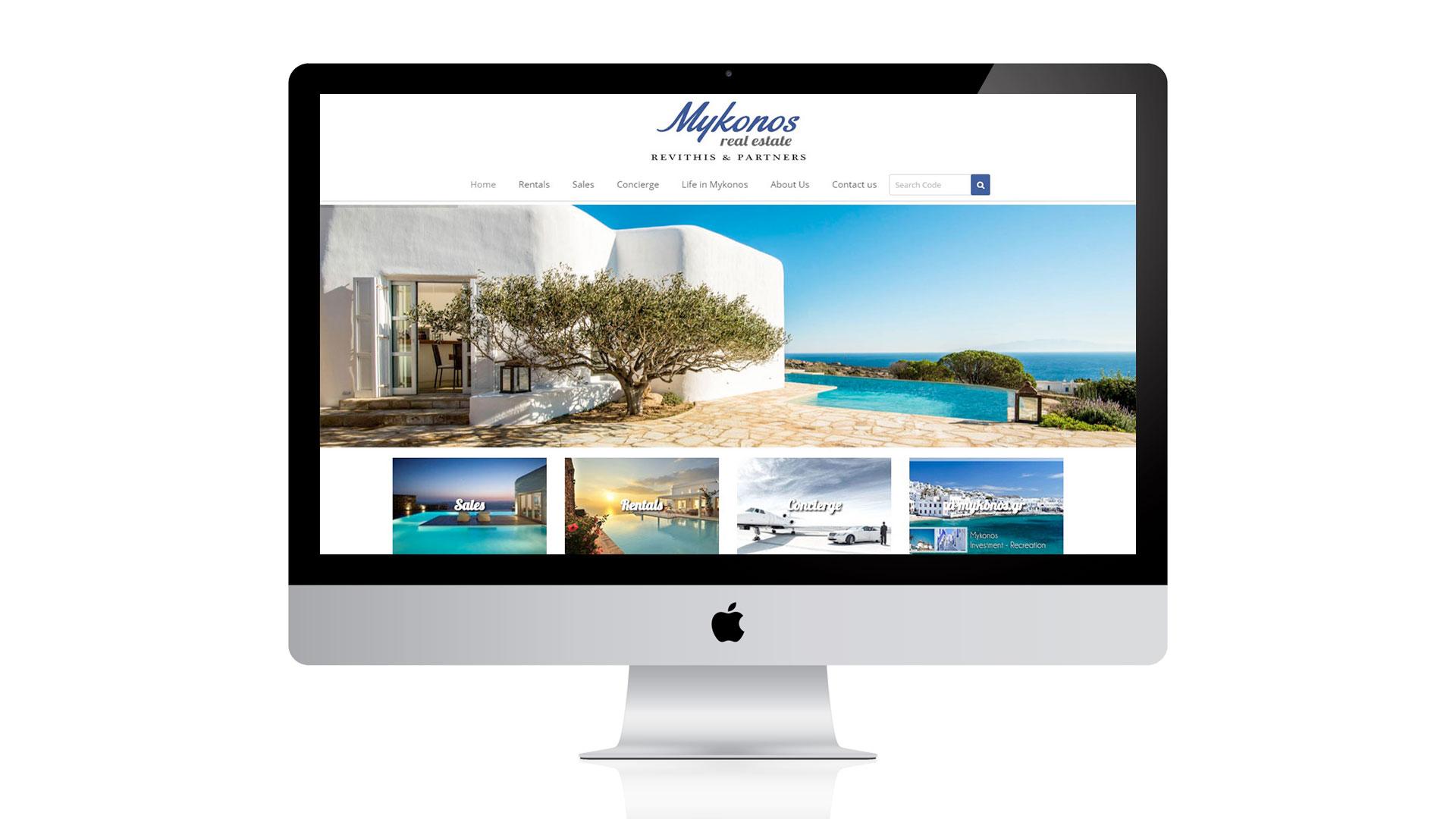 Mykonos-Real Estate Responsiveness