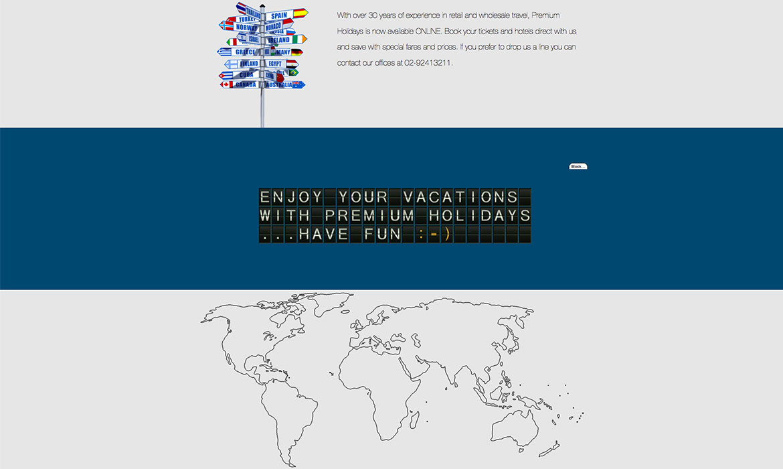 Premium Holidays